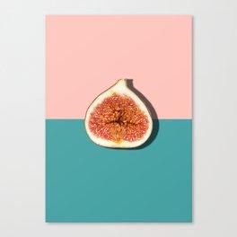 Half Slice Fruit Canvas Print