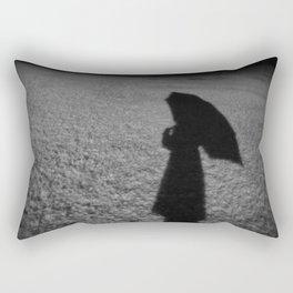 Snow Silhouette Rectangular Pillow