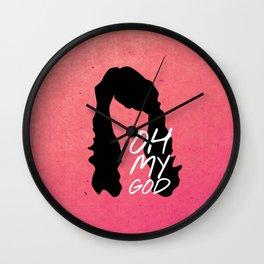 Friends 20th - Janice Wall Clock