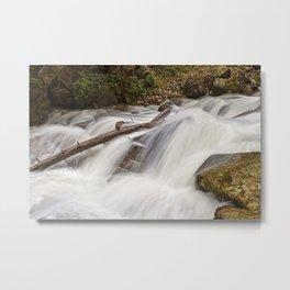 Lower Reid Falls. Metal Print