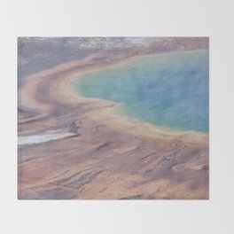 Yellowstone National Park 30x12 First Panorama Throw Blanket