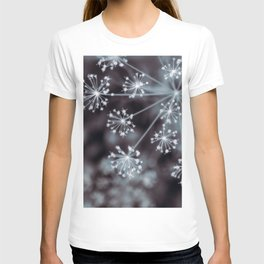 The Stars for You. Botanical Macro Abstract T-shirt
