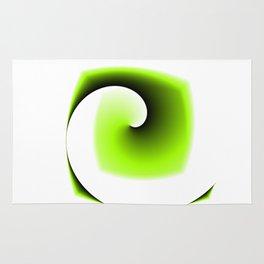 Logoish abstract Rug