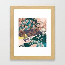Flower Textures 03 Framed Art Print