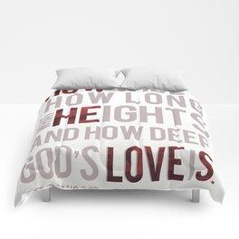 How He Loves Comforters