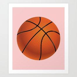 Basketball Ball Kunstdrucke