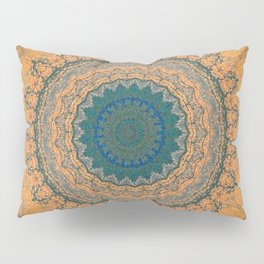 Bohemian Orange Pillow Sham