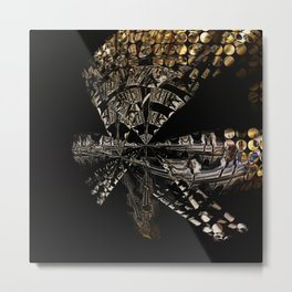 Distilled Metal Print