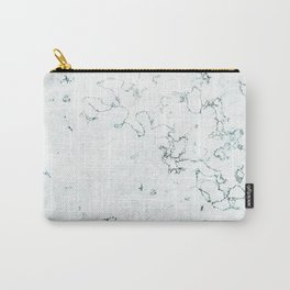 Marble Elegance Carry-All Pouch