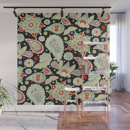Christmas Party Wall Mural