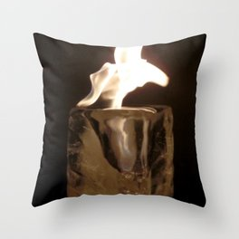Fire from Ice - FredPereiraStudios.com_Page_13 Throw Pillow