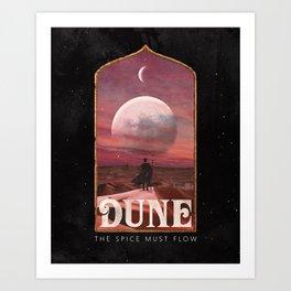 Dune: The Spice Must Flow Art Print
