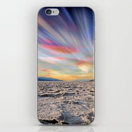 Stopping Time : Colorful Sky Landscape iPhone Skin