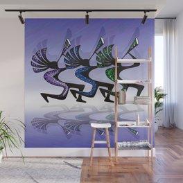 JAZZY KOKOPELLI REFLECTIONS Wall Mural