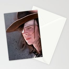 Carl Grimes Before The Fall - The Walking Dead Stationery Cards