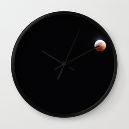 Super Blood Wolf Moon 2 Wall Clock