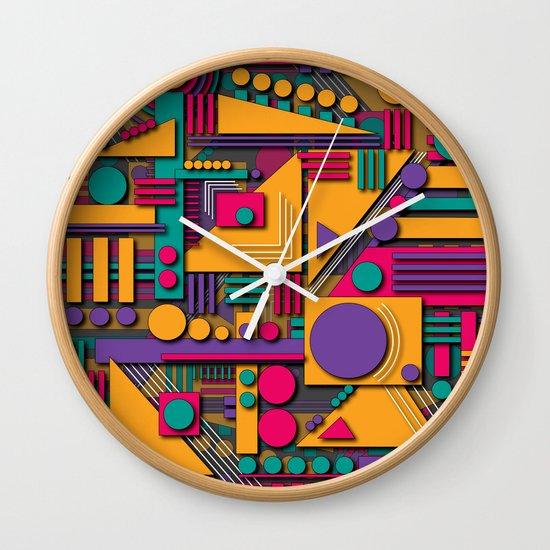 1B Wall Clock