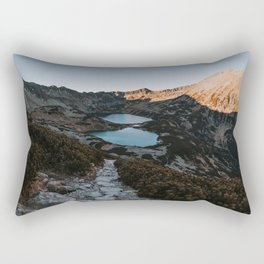 Mountain Ponds - Landscape and Nature Photography Rectangular Pillow