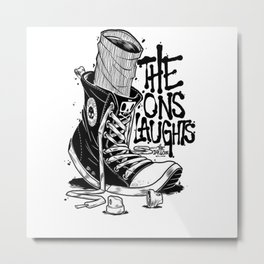 The Ons Laughts Metal Print