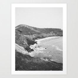 CALIFORNIA COAST VII / Mori Point, CA Art Print