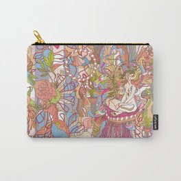 Feast of Saint Lucy Carry-All Pouch