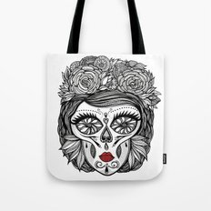 Miss Calavera Tote Bag