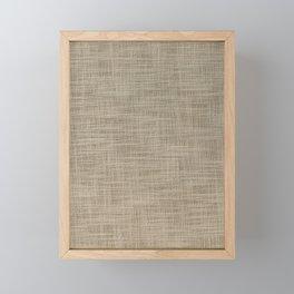 Gunny cloth Framed Mini Art Print