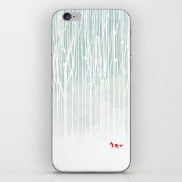 Rain scar iPhone Skin
