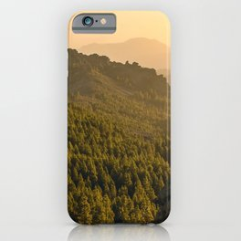Forests from Gran Canaria iPhone Case