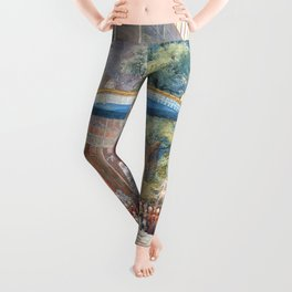 Eugene Louis Lami - Opening of the Great Exhibition - Digital Remastered Edition Leggings