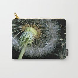 Dandelion Seeds Blowing in the Wind, Scanography Carry-All Pouch