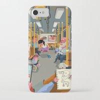 budapest iPhone & iPod Cases featuring Budapest underground by Zsolt Vidak