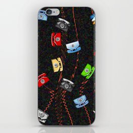 Dial 9 for an outside line. iPhone Skin