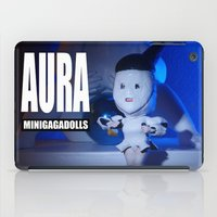 artrave iPad Cases featuring AURA ARTRAVE by Sergiomonster