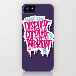 Love Interruption iPhone Case