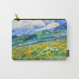 Mountain Landscape behind the Saint Paul Hospital Painting by Vincent van Gogh 1889 Carry-All Pouch
