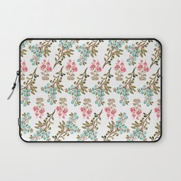 Colorful berries and Flowers Nature Pattern Laptop Sleeve