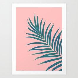 Tropical Palm Leaf #3 #botanical #decor #art #society6 Art Print