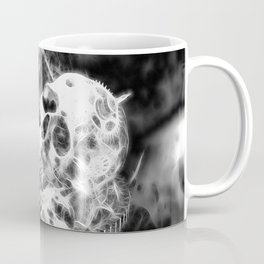 Zahn der Zeit - schwarz-weiß Coffee Mug