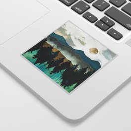 Forest Mist Sticker