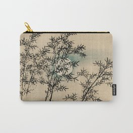 Bamboo Branches Traditional Japanese Flora Carry-All Pouch