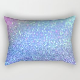 PINK PURPLE GLITTER Rectangular Pillow