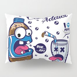 Blue Cola Addict Pillow Sham