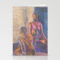 nudes Stationery Cards featuring Nudes in Color by Amanda Marie Studios