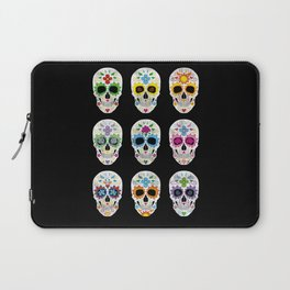 Nine skulls Laptop Sleeve