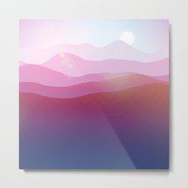 Magic Mountains N.5 Metal Print