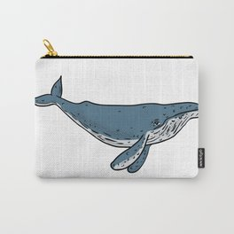 Humpback Whale Color Drawing Carry-All Pouch