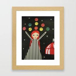 life juggler Framed Art Print