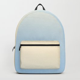 BLIND FAZE - Minimal Plain Soft Mood Color Blend Prints Backpack