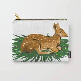 Fawn Illustration Carry-All Pouch